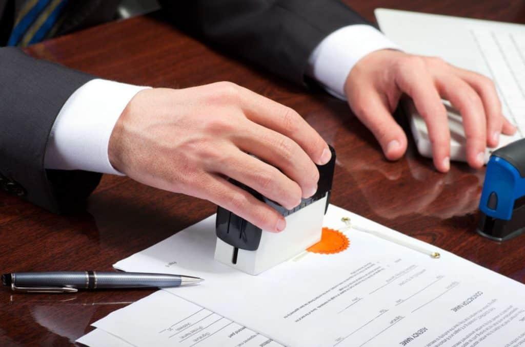 Taxa de registro de imóveis