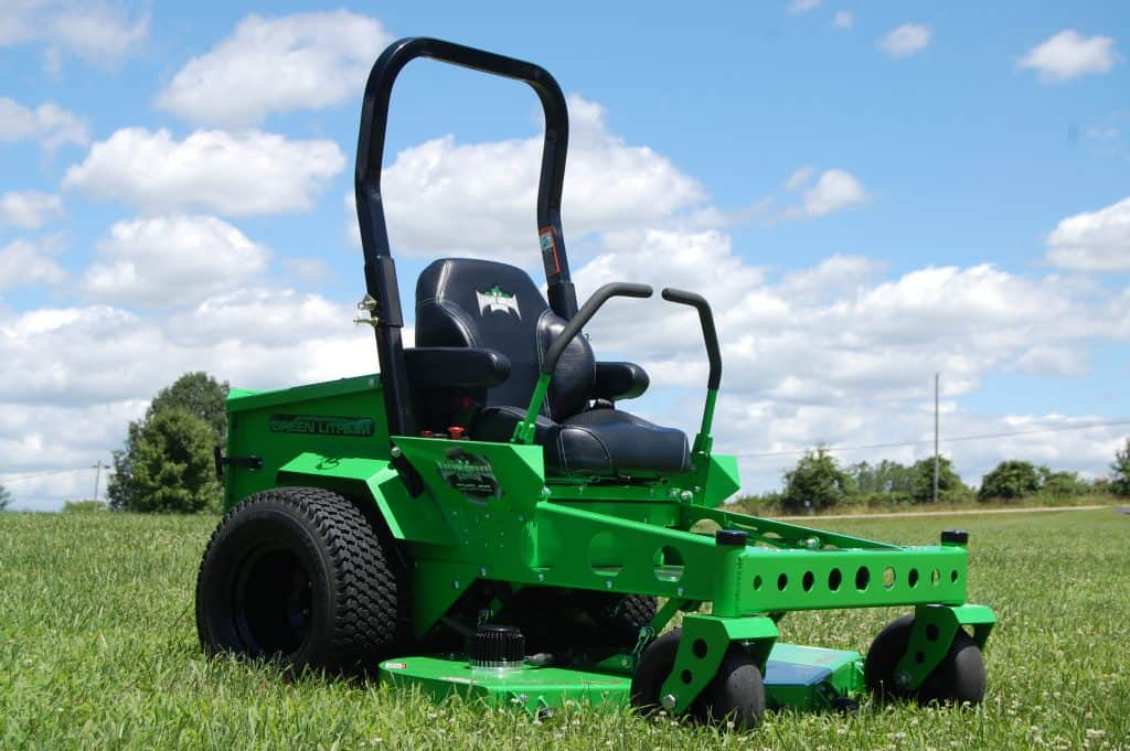 Mean Green Mowers Electric commercial mowers website design peterborough blue dolphin