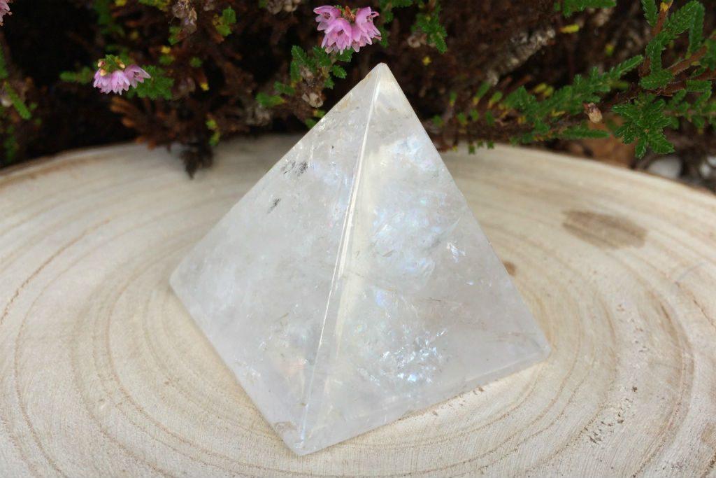 Spiral Crystals Quartz Pyramid