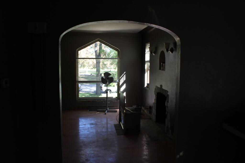 Denver Whole House Remodel Before Living