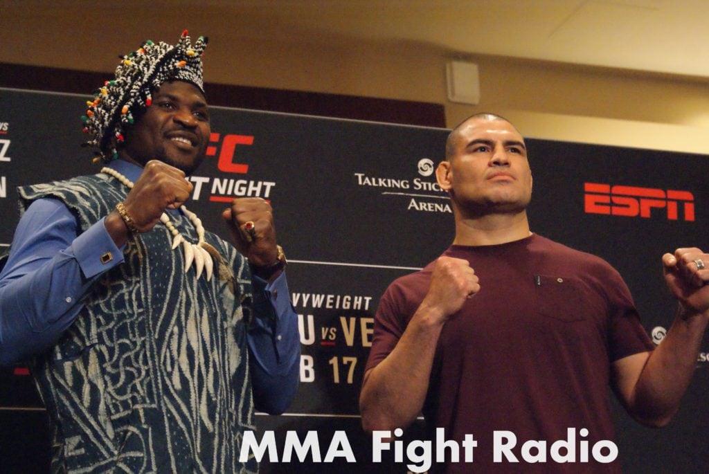 Cain Velasquez vs Francis Ngannaou - UFC Phoenix - ESPN - MMA Fight Radio