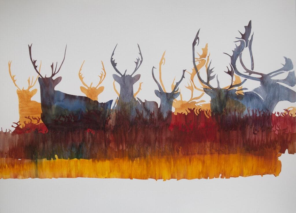Caribou 1 - Burnt Umber Caribou