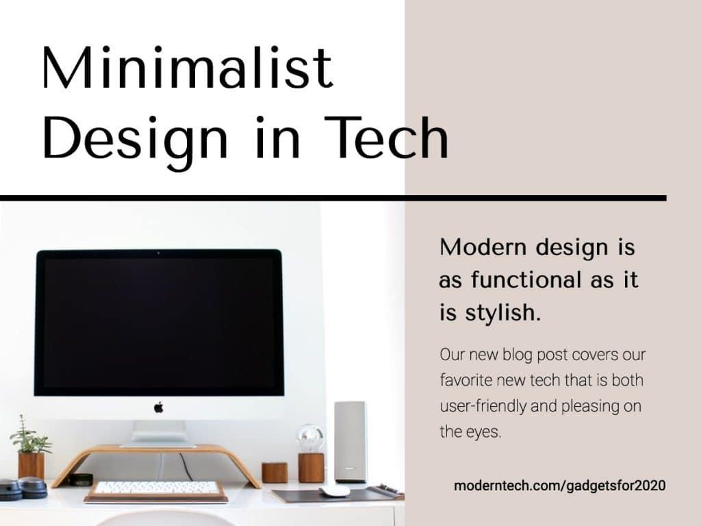Minimal design banner trend