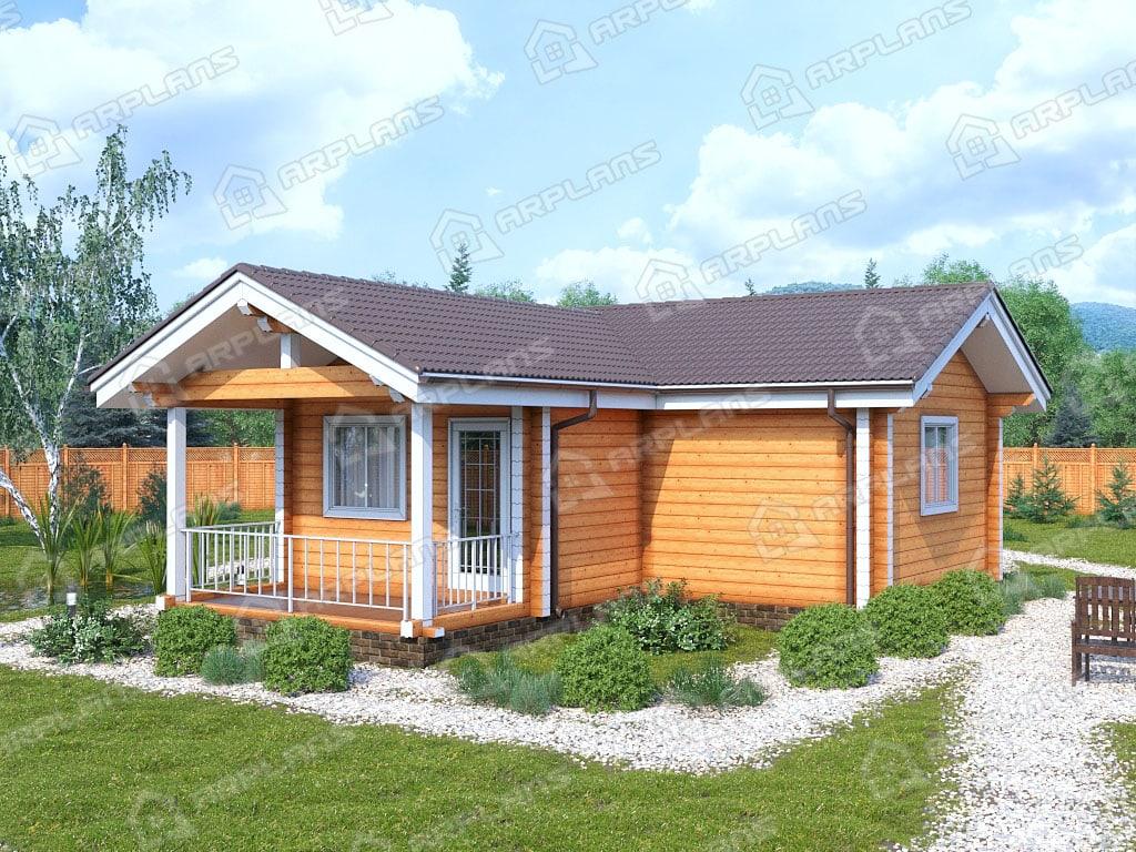 дом из бруса в Уфе