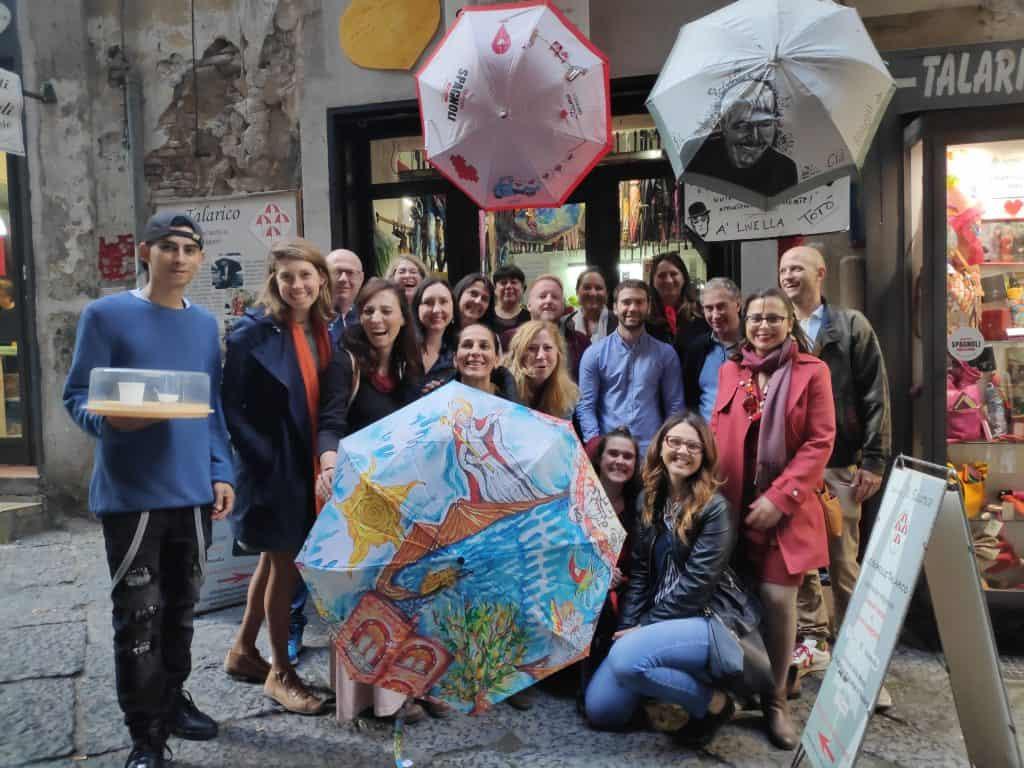 workshop Napoli Youth Business Europe