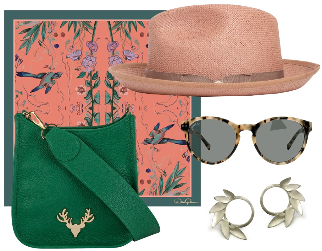 peachy capsule collection summer accessories