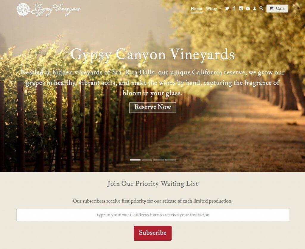 Gypsy Canyon Vineyard
