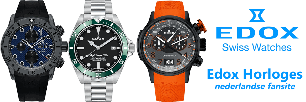 Edox horloges homepage