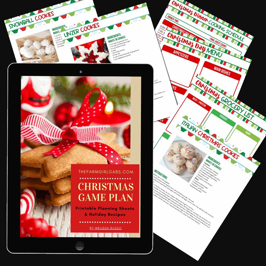 Free Printable Christmas Planner Holiday Planner