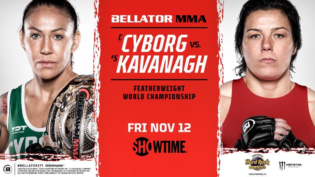 Bellator MMA Cyborg vs Kavanagh - MMA Fight Coverage