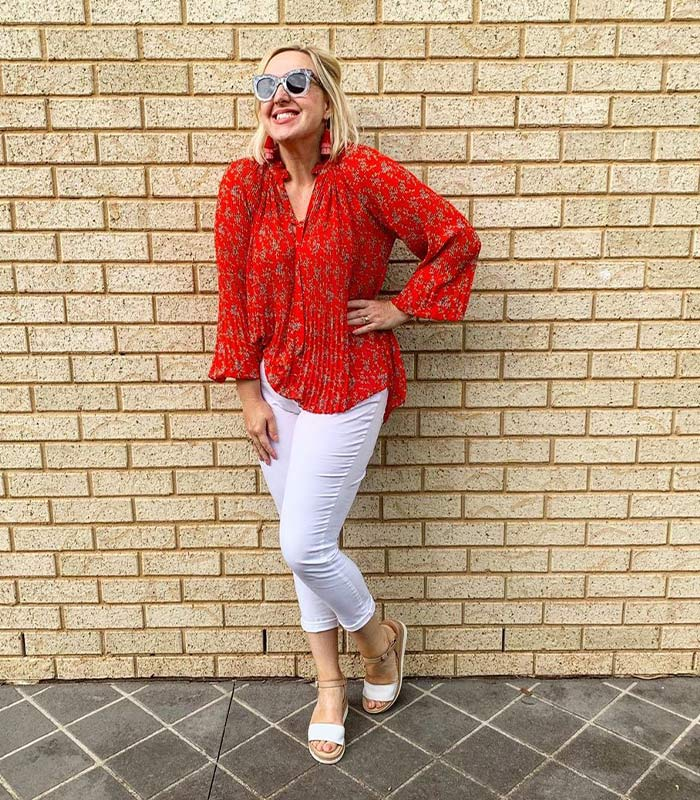 How to wear white pants: inspiration and ideas