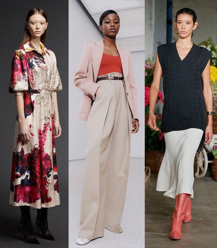 How to wear the fall and winter 2021 fashion trends
