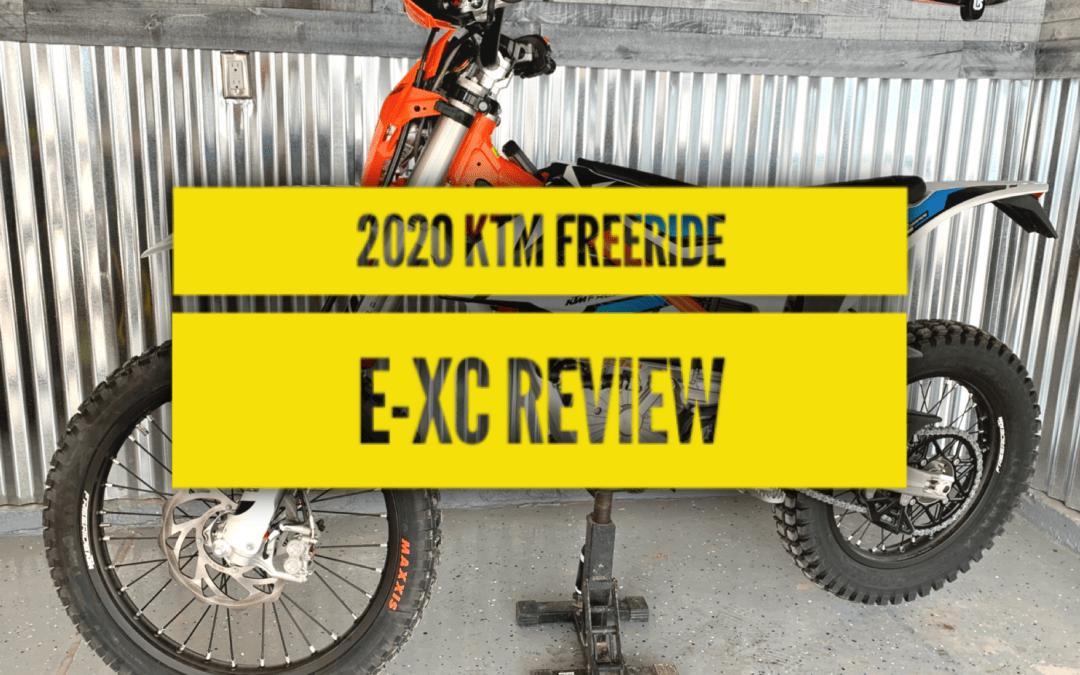 2021 KTM Freeride E-XC Review