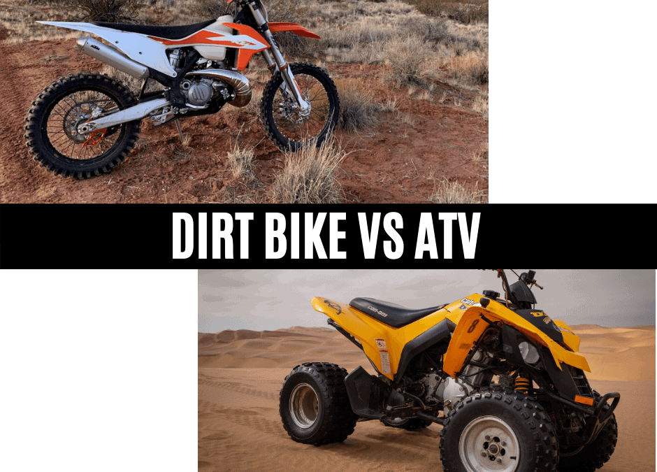 Dirt Bike vs ATV: Which is better?