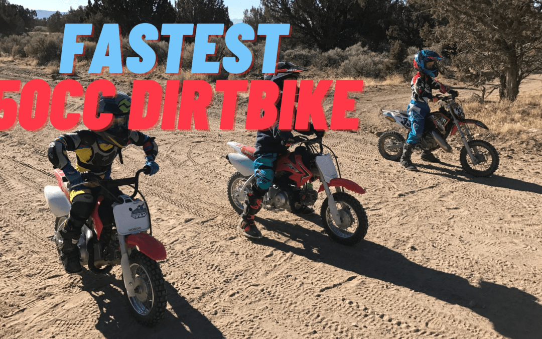How Fast Does a 50cc Dirt Bike can Go?