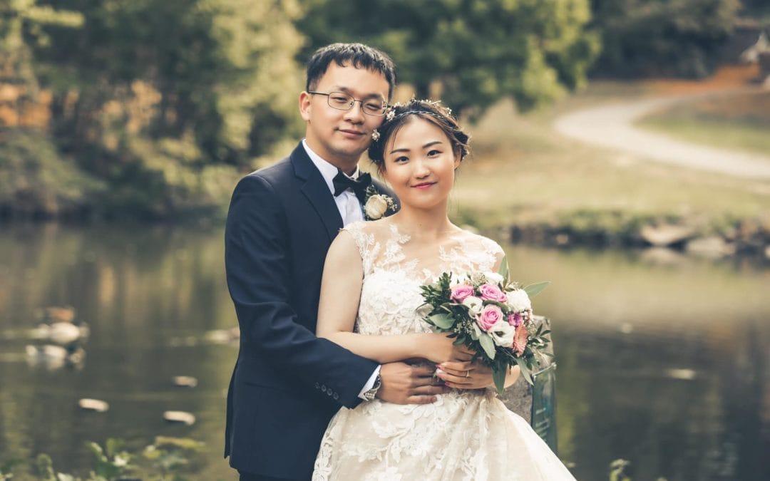 Asiatisches Brautpaarshooting