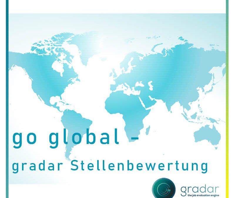 go global – gradar Stellenbewertung