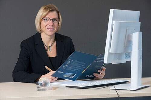 NO-NAIL BOXES: Fabienne Annet Administrative Officer