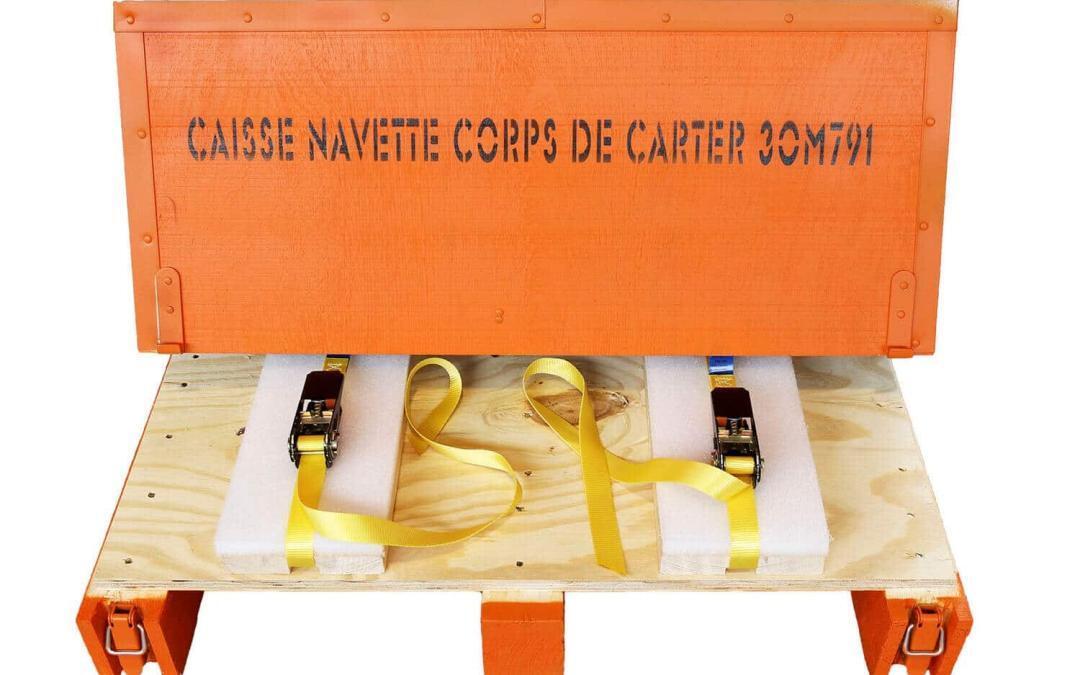 NO-NAIL BOXES: emballages légers, sur-mesure et ergonomiques
