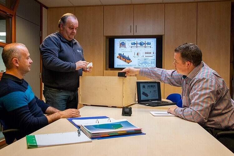 NO-NAIL BOXES: Innovation et R&D
