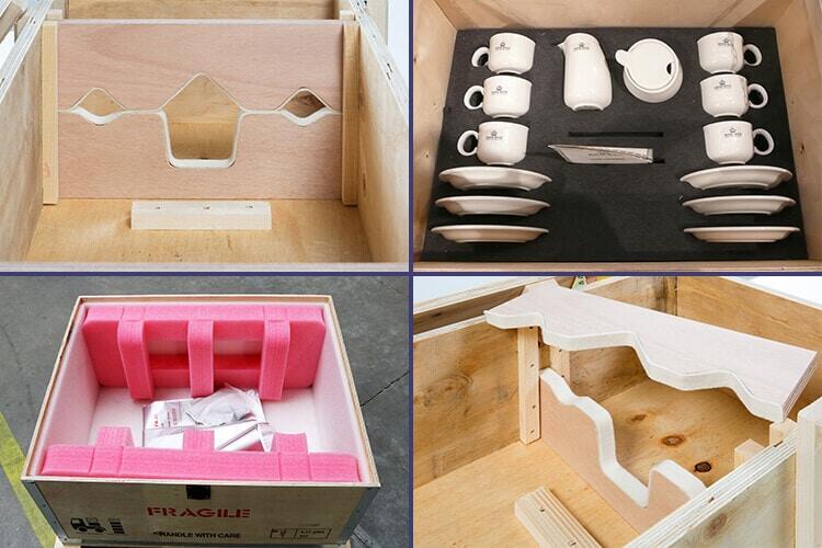 NO-NAIL BOXES : Emballage adapté