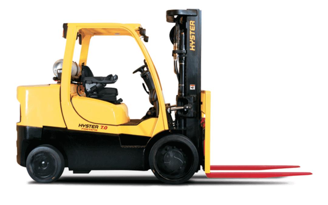 6–7to Kompaktstapler Hyster S6.0–7.0FT Diesel — Treibgas