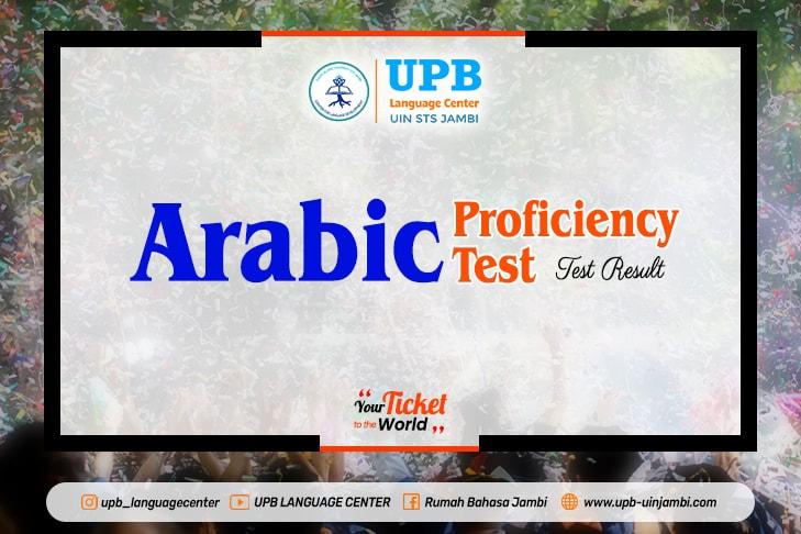 Test Result of APT