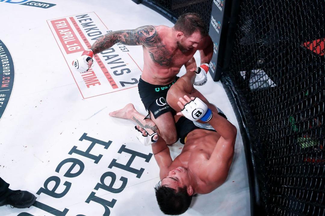 Ryan Bader win over Machida Bellator MMA _ MMA Fight Coverage