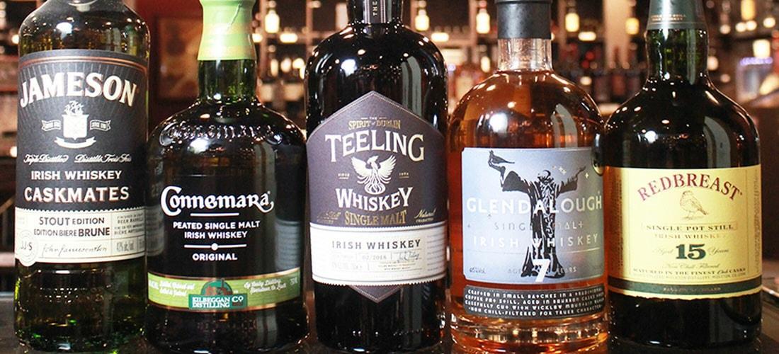 Celebrate St. Patrick's Day with Irish Whiskey