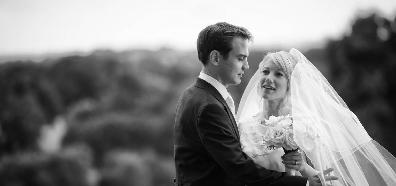 Wedding Couple photo at South Lodge Hotel