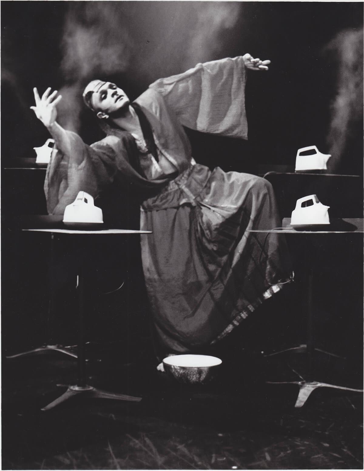 Sinha Danse 1992 Burning Skin - Roger Sinha Image credit: Stephen Hues