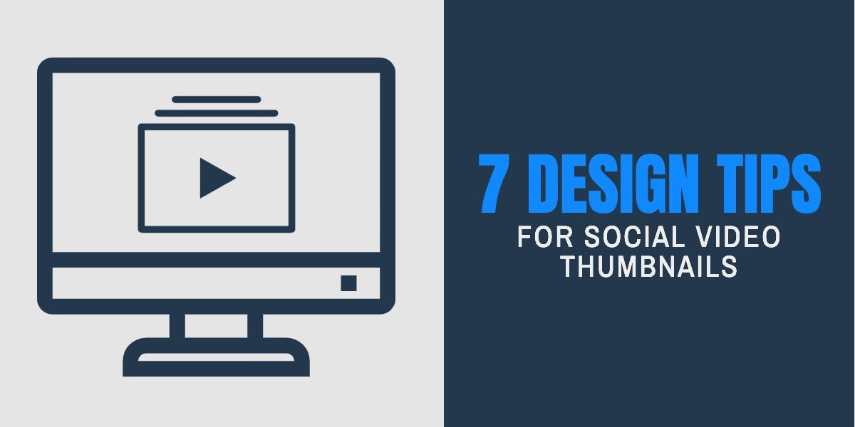 Social Video Thumbnails Images