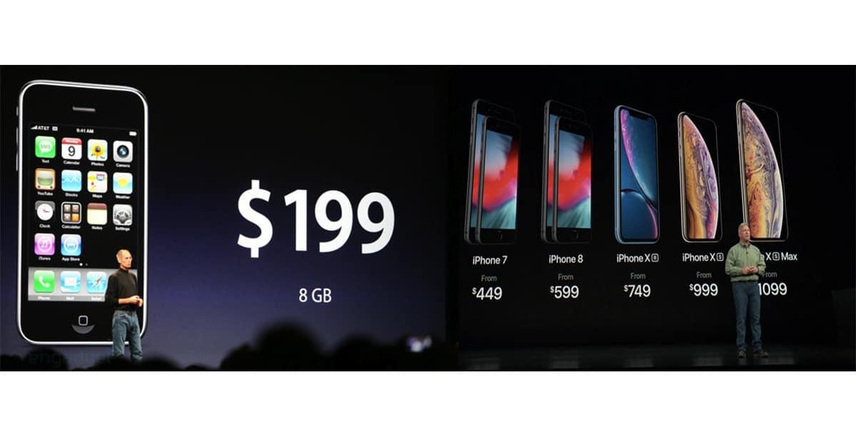 iPhone Xs iPhone Xs MAX price comparison 2