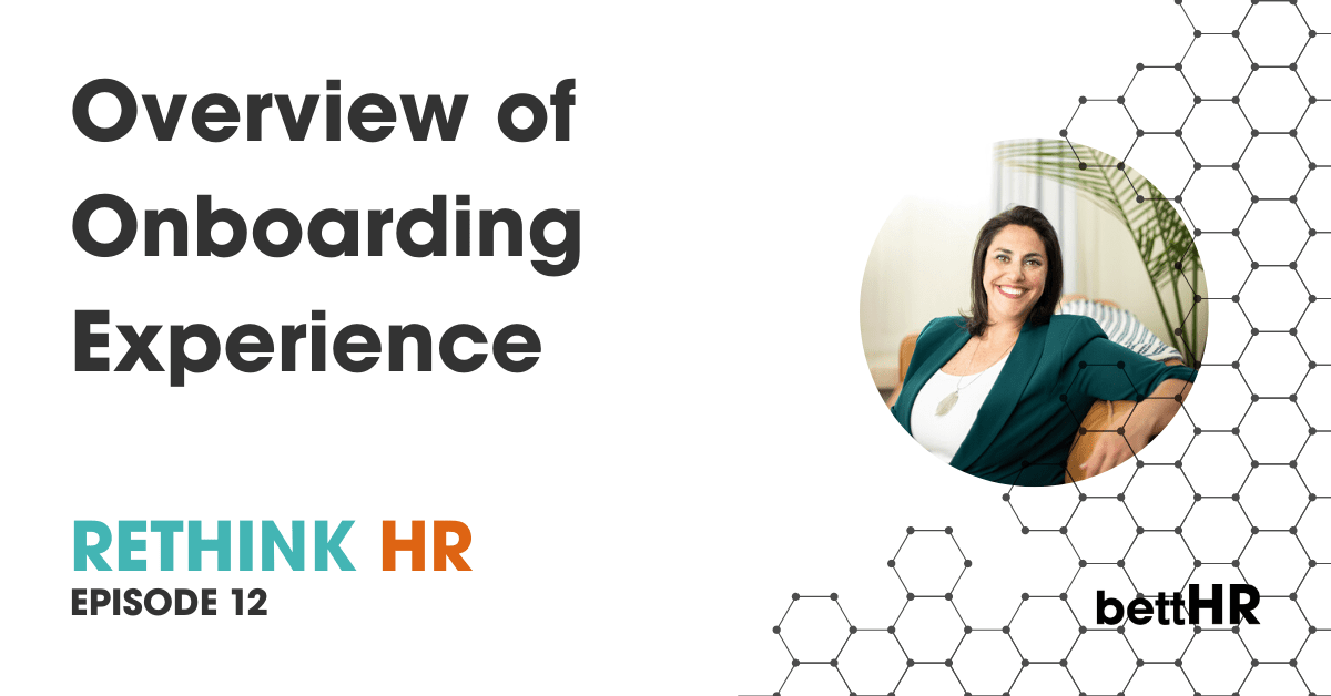 Overview of Onboarding Experience