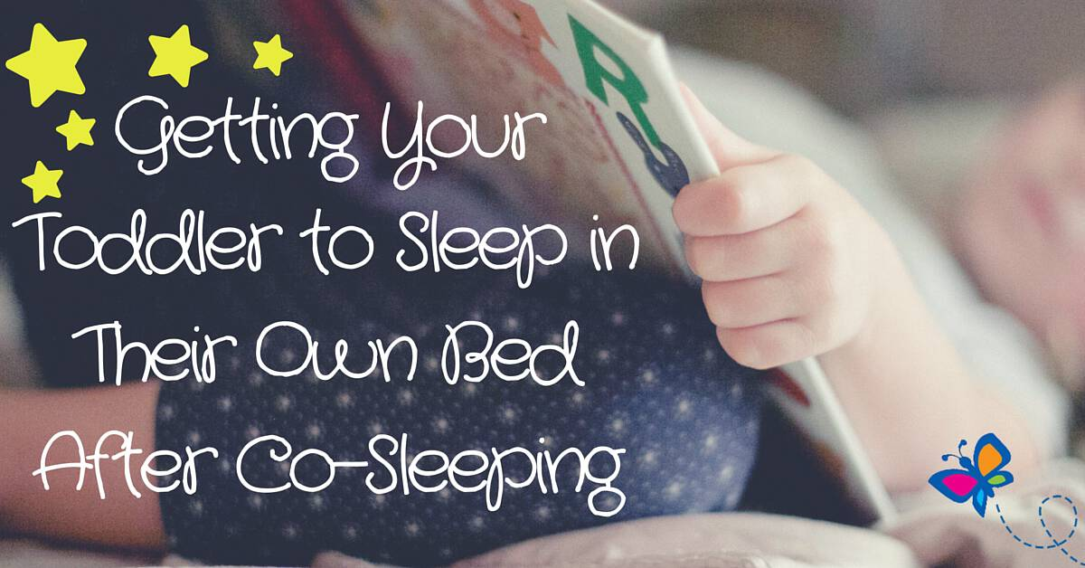 Getting Your Toddler to Sleep in Their Own Bed After Co-Sleeping