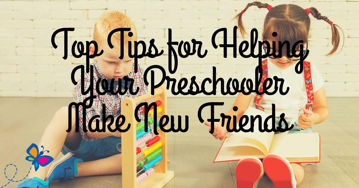 Top Tips for Helping Your Preschooler Make