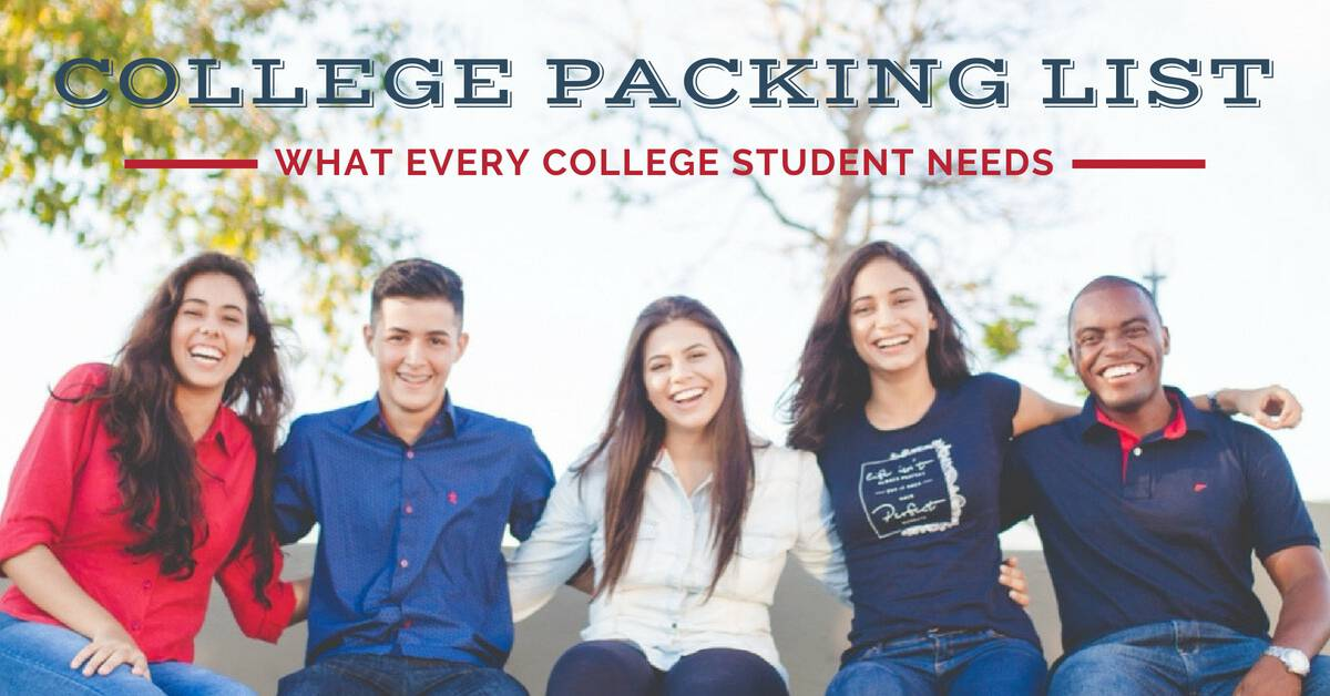 college packing list_FB