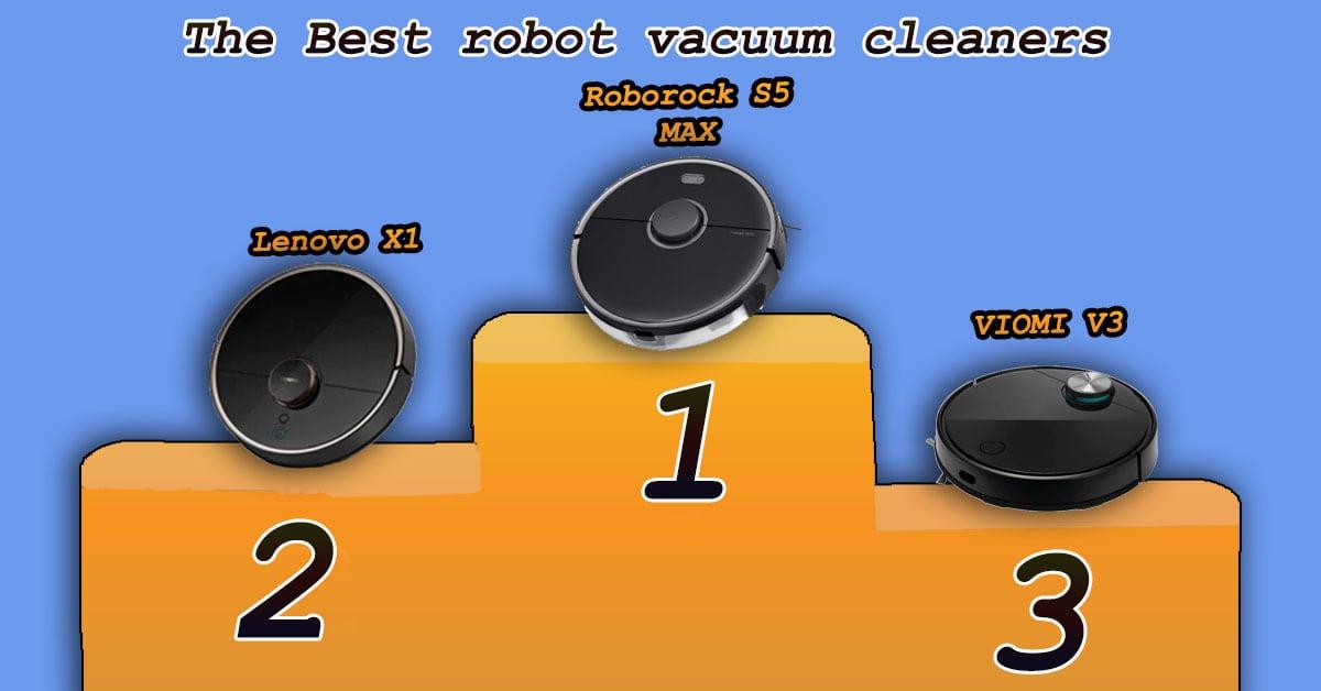 Roborock S5 MAX vs VIOMI V3 vs Lenovo X1