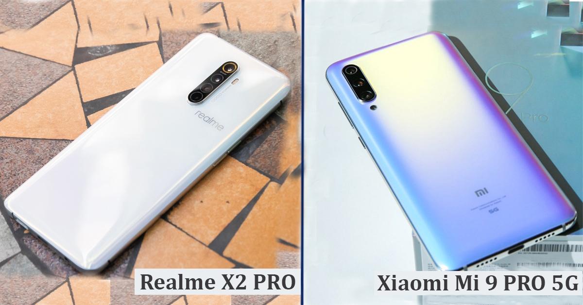 Realme X2 PRO vs Xiaomi Mi 9 PRO 5G