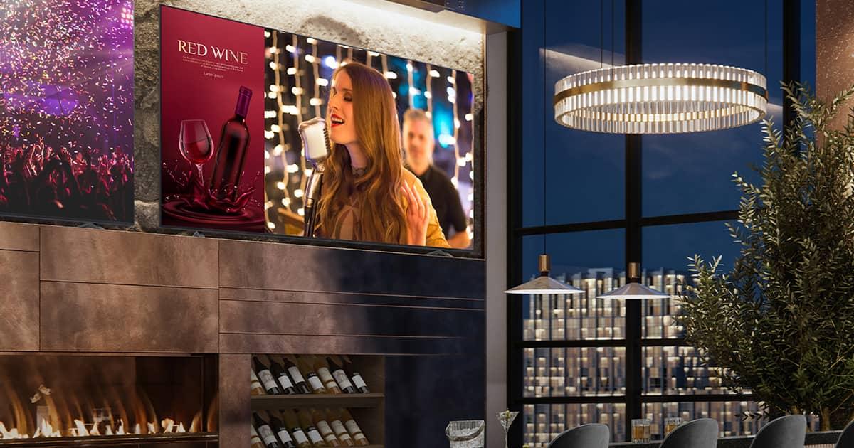 Коммерческие телевизоры LG серии UR640S