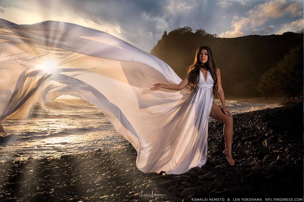 Hawaii sunlight dress