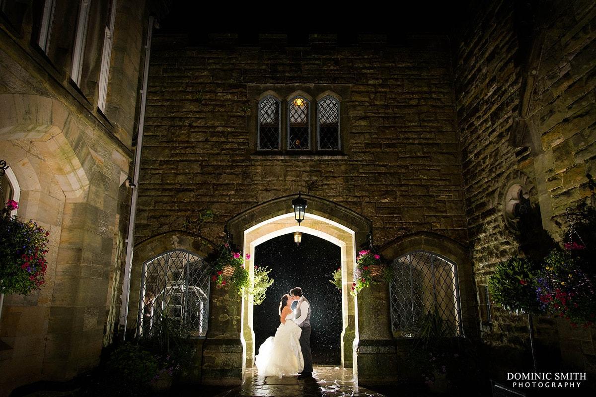 Ashdown Park Wedding Night Photo