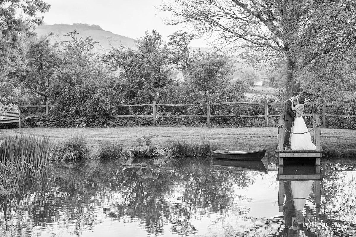 Lake Reflection Wedding Photography