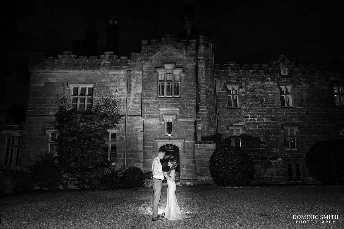 Wadhurst Castle Wedding Night Photo