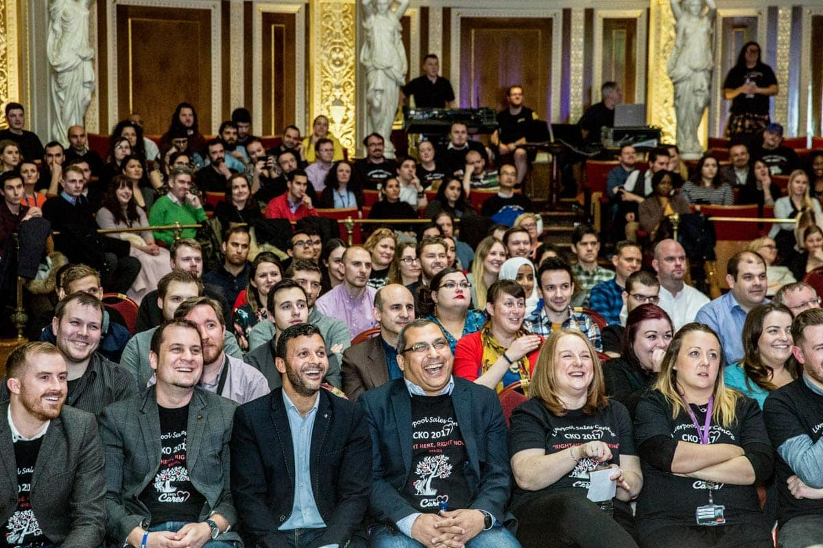 the crowd at a recent conference in liverpool