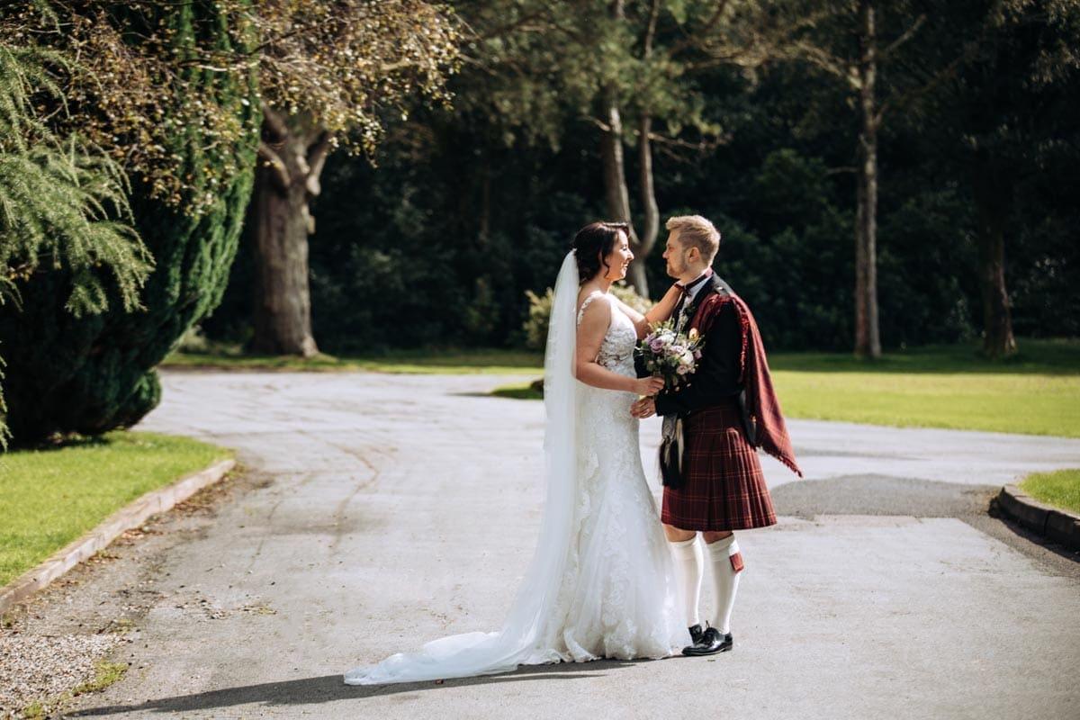 Romance at Rivington Barn Wedding Venue