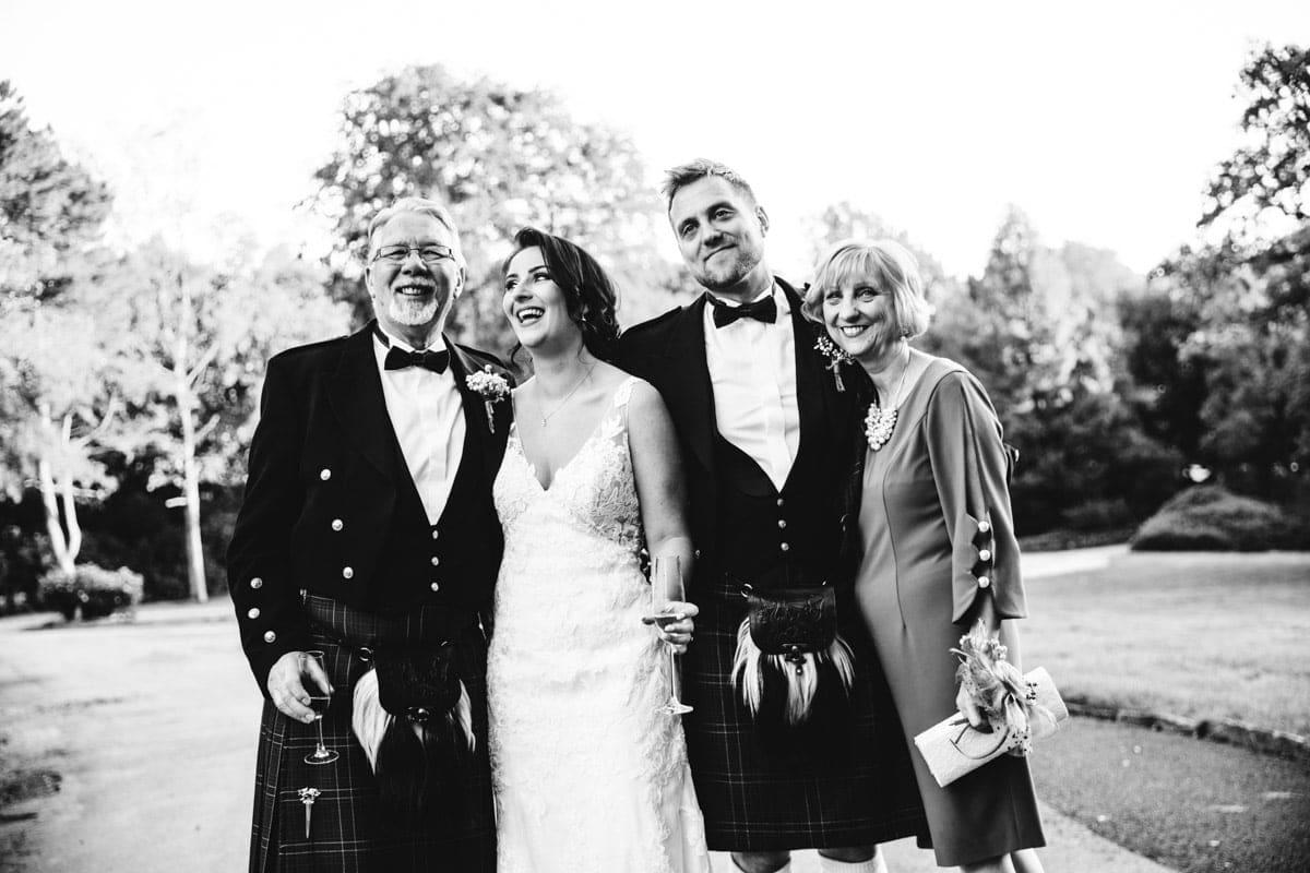 happy family group photo