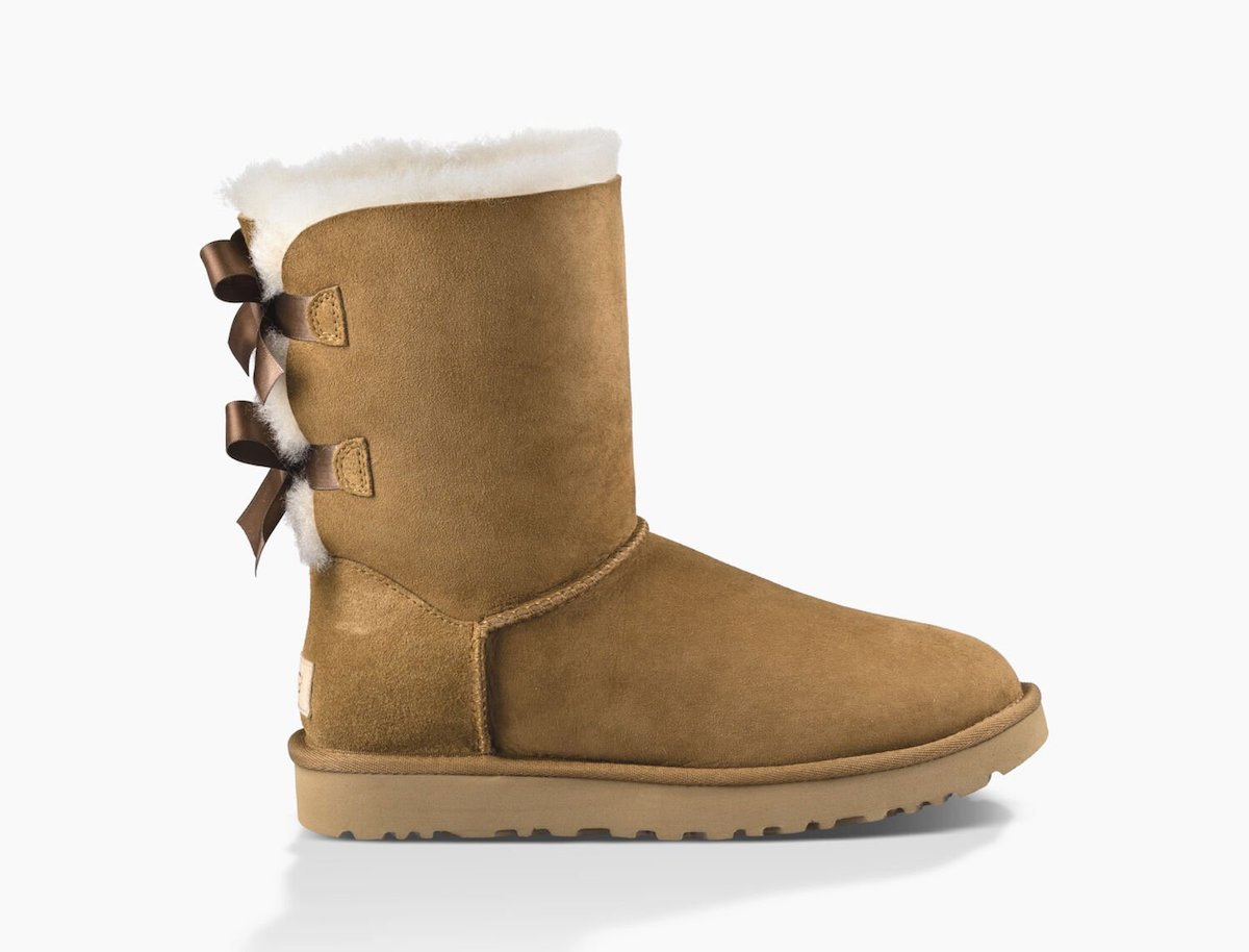 UGG Bailey Bow II Boots - #uggaustralia #uggs Looking for amazing cold weather boots like Uggs without the expensive price tag? This is an epic roundup of the best Ugg look alikes and Ugg alternatives that give classic Ugg boots a run for the money but in price and quality. #winterboots