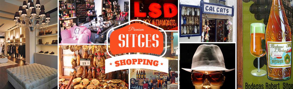 Einkaufen in Sitges