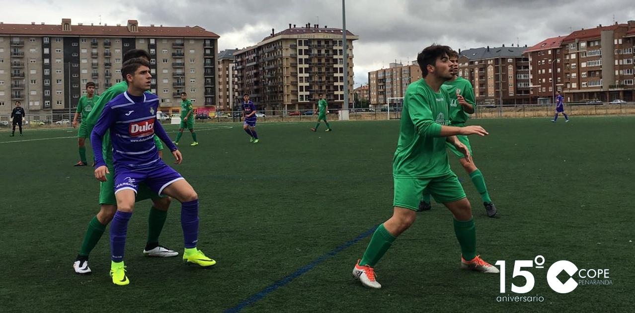 Los juveniles del CD Peñaranda se dejaron tres puntos frente al Atlético Pinilla